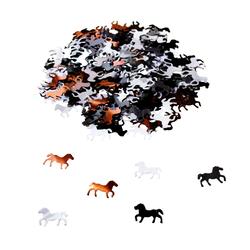 Pferd Konfetti über 350 Stk Streu Deko Tischdeko für Kinder Geburtstag