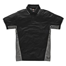 Dickies Poloshirt 100 % Baumwolle schwarz M