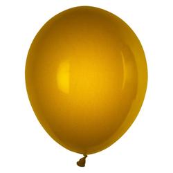 Luftballons gold Ø 250 mm, Größe 'M', 10 Stk.