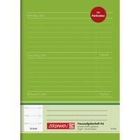 Brunnen Hausaufgabenheft A6 24 Blatt, perforierte Blätter)