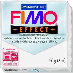 Modelliermasse Fimo soft 56g weiß transparent