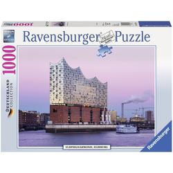 Ravensburger Puzzle Elbphilharmonie Hamburg, 1000 Puzzleteile, Made in Germany