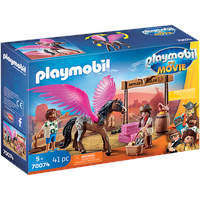 Playmobil The Movie Marla, Del und Pferd mit Flügeln 70074