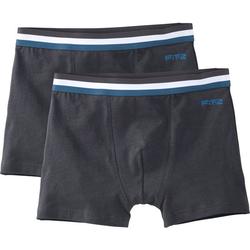 Boxershorts, grau, Gr. 152/158 - 152/158 - grau