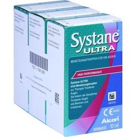 Alcon Systane Ultra Benetzungstropfen 3 x 10 ml