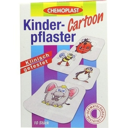 KINDERPFLASTER Cartoon 10 St