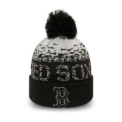 New Era Baseball Cap Bobble Beanie Boston Red Sox