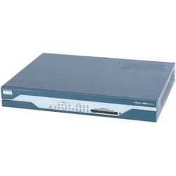 Cisco - CISCO1802 - 1802 - Router - WLAN 100 Mbps - 8-Port 1 HE - Extern