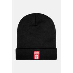 Derbe Mütze Schwarz