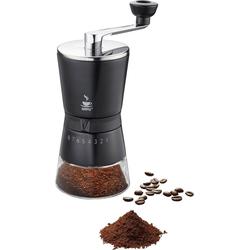 GEFU Kaffeemühle Santiago, Kegelmahlwerk, 8 Stufen Mahlwerk