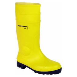 Bau-Sicherheitsstiefel 'Dunlop' S5, gelb, Gr.43 / Paar