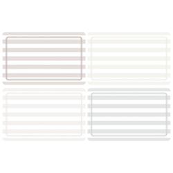 HERMA 10670 Beschriftungsetiketten 52x82 mm grau/braun ablösbar Papier matt Handbeschriftung 80 Stüc