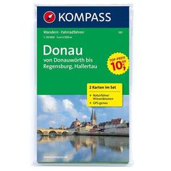 Donau - von Donauwörth bis Regensburg Hallertau 1 : 50 000
