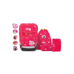 ergobag Schulranzen CuboCubo, PET rosa