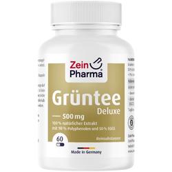 GRÜNTEE Kapseln Grüntee Deluxe 500 mg 60 St