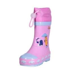 Playshoes Gummistiefel Maus & Elefant rosa