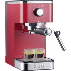 Graef Salita Espressomaschine mit Siebträger Rot 1400W