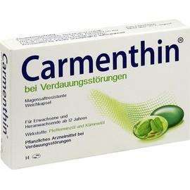 Dr Willmar Schwabe GmbH & Co KG Carmenthin bei Verdauungsstörungen Weichkapsel