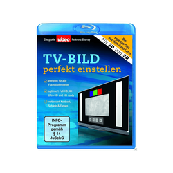 TV-Bild Perfekt Einstellen Blu-ray