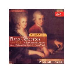 MORAVEC/CZECH PHILHARMONIC ORCHESTR, Moravec/Vlach/TP - Klavierkonzerte 14,23 & 25 (CD)