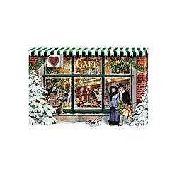 Adventskalender-Schokolade -  24 Süße Herzmomente im Advent