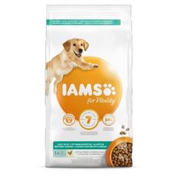 Iams for Vitality Adult Light Hundefutter 3 kg AUSVERKAUF