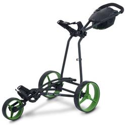 'Big Max Autofold X 3-Rad Trolley schwarz/lime'