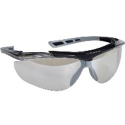 Thor Reflector Schutzbrille, Augenschutzbrille im modernen Design, 1 Packung = 12 Stück, klar