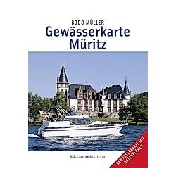 Gewässerkarte Müritz. Bodo Müller  - Buch