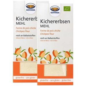 Govinda Bio Kichererbsenmehl 2x350 g Pulver