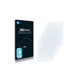 Savvies Schutzfolie für easypix EasyPad 700, (6 Stück), Folie Schutzfolie klar