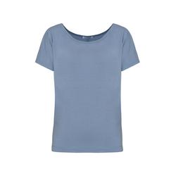 Lavard Blaue Oversize-Damenbluse 84778