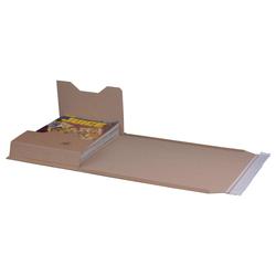Buchversandverpackung 335 x 275 x 80 mm DIN C4+