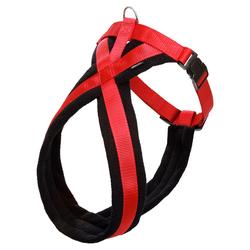 Karlie Geschirr Art Sportiv Cross schwarz-rot, Größe: L