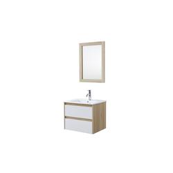 HTI-Line Badmöbel-Set Badmöbel Set 3-teilig Wiek 60, (Set, 3-tlg)