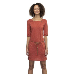 Kleid RAGWEAR - Tanya Slub Terracotta (TERRACOTTA) Größe: S