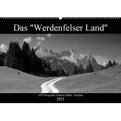 Das Werdenfelser Land (Wandkalender 2021 DIN A2 quer)