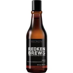 Redken Brews Shampoo 3-in-1 300ml