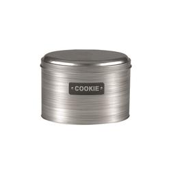 Michelino Keksdose Keksdose Vorratsdose Silber, Metall, (1-tlg)