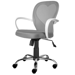 Fotel biurowy Mia szary