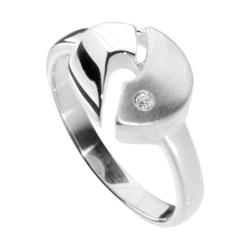 Ring - Rica - Silber 925/000 - Brillant OSTSEE-SCHMUCK silber