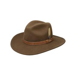 Stetson Cowboyhut Cowboyhut mit Lederband braun L (58-59 cm)