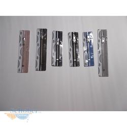 OPTI Marken-Reißverschluss 8053 Metall 0235 jeansblau 6 cm