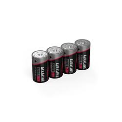 ANSMANN® 4x Alkaline Batterie Mono D 1,5V – LR20 MN1300 Batterien (4 Stück) Batterie