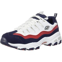 D' Lites - Sure Thing white-red-navy/ white, 40