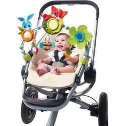 Tiny Love Kinderwagen-Spielbogen Kinderwagenspielzeug Sunny Stroll (Meadow Days)