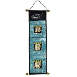 Wandteppich Wandtasche, Wand Aufbewahrung, Utensilientasche.., Guru-Shop, Höhe 80 mm