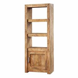 Bücherregal aus Teak Recyclingholz 80 cm