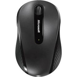 Microsoft Wireless Mobile Mouse 4000 Funk Maus Optisch Schwarz