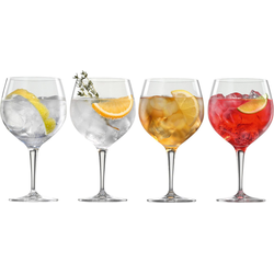 SPIEGELAU Gläser-Set Gin Tonic (4-tlg), Kristallglas